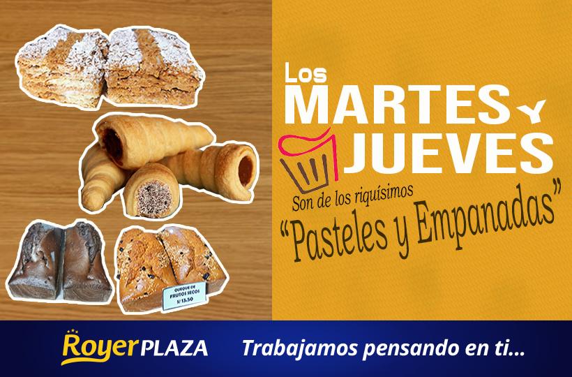 MARTES Y JUEVES DE PAN